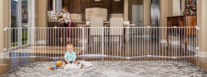 Best place for baby gates