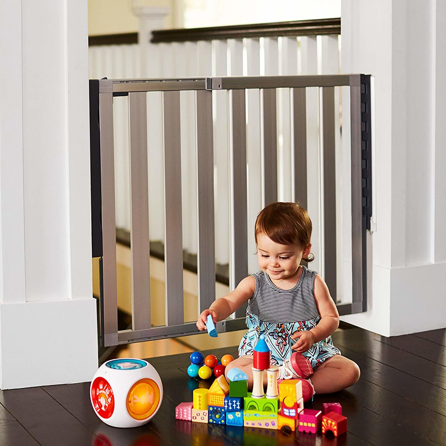 Munchkin Loft Aluminum Hardware Mount Baby Gate for Stairs Review