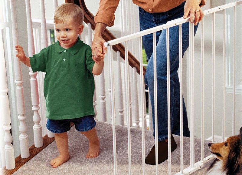 Stairs Secure with baby gate